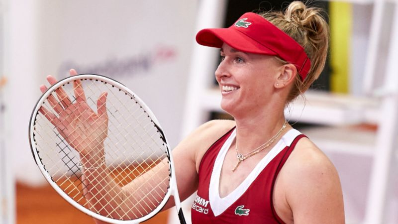 Svitolina stunned by Teichmann fightback, Barty breezes through in Madrid