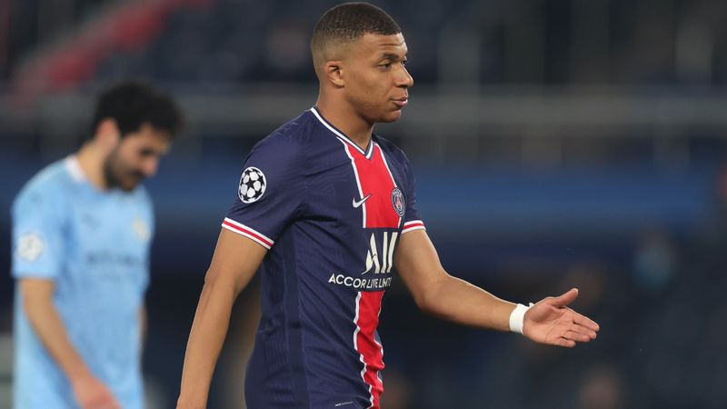 Mbappe injury blow for PSG with Man City second leg looming
