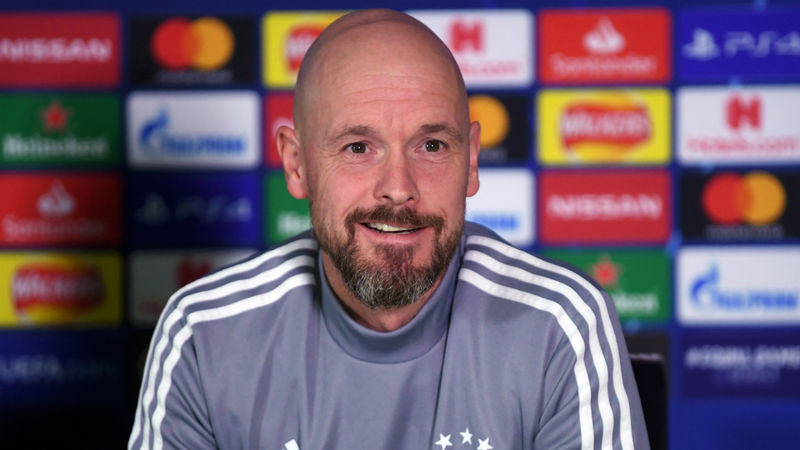 Ten Hag commits to Ajax amid Spurs rumours