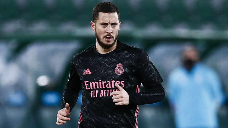 Zidane hoping Hazard can return against Liverpool