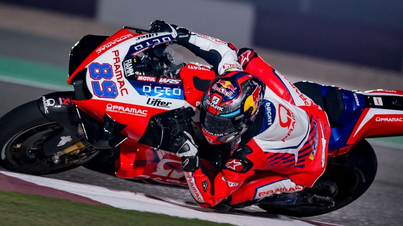 Rookie Martin takes maiden MotoGP pole in Doha