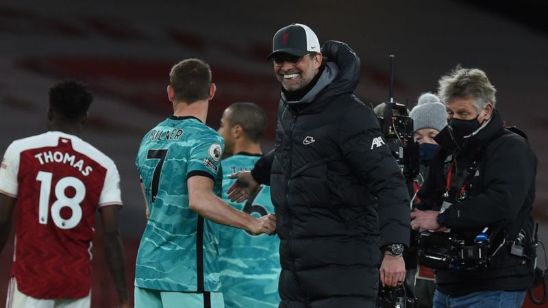 Liverpool took Arsenal's quality away, claims Klopp