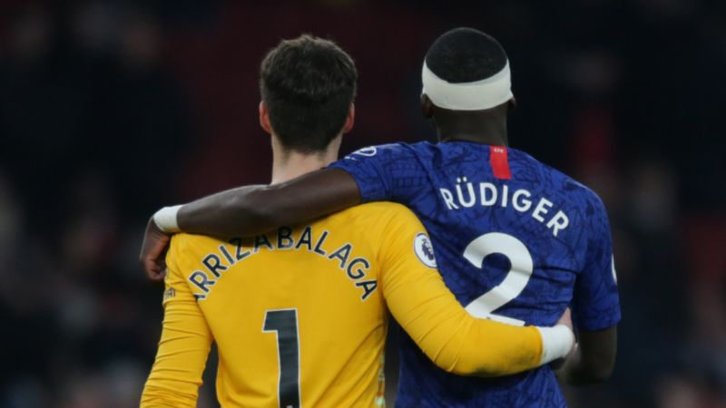 Tuchel confirms bust-up between Rudiger and Kepa but praises spirit in wake of 'weird' game