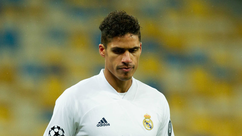 Varane to miss Liverpool clash after testing positive for coronavirus