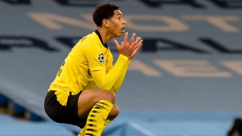 Bellingham baffled by Ederson call in Dortmund's loss at Man City