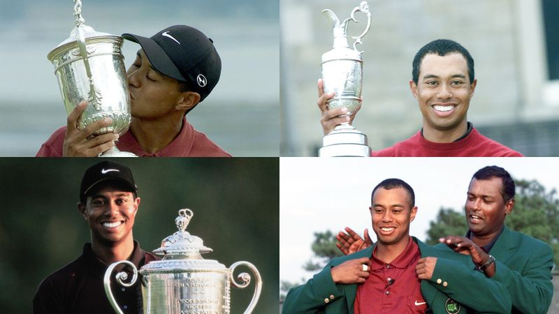 The Masters: Remembering the 'Tiger Slam' 20 years on from Woods' unmatched moment of history