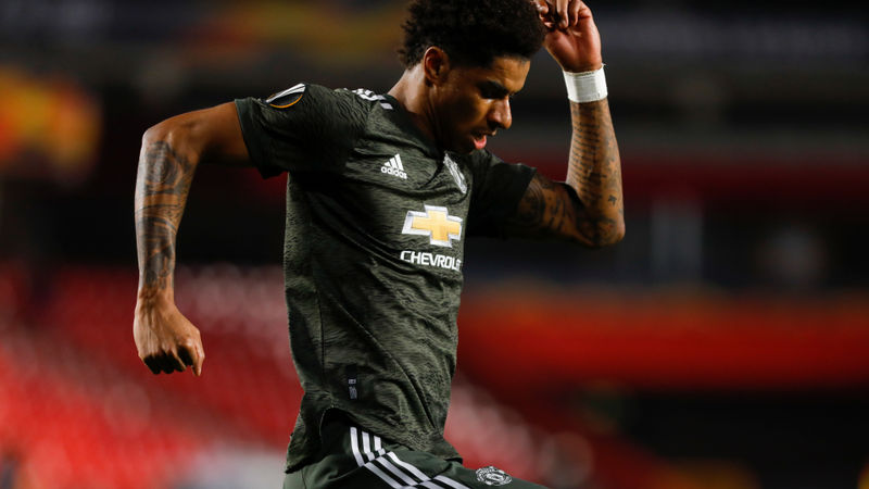 Granada 0-2 Manchester United: Rashford and Fernandes give Red Devils edge in Europa League tie