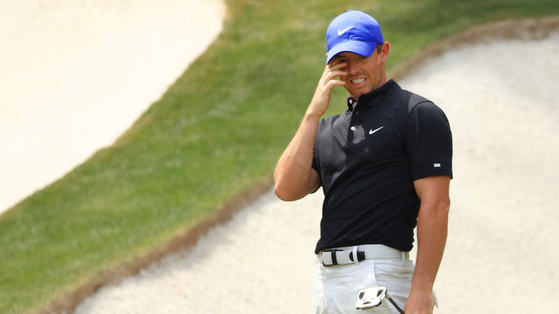 The Masters: McIlroy 'encouraged' despite underwhelming start in Grand Slam pursuit