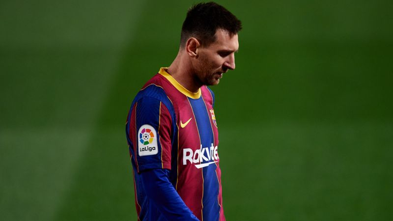 Messi not to blame for Barcelona's financial woes, says LaLiga boss Tebas