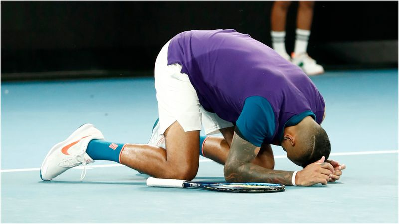 Australian Open: 'Passive' Djokovic passes Tiafoe test as Kyrgios thrills the crowd