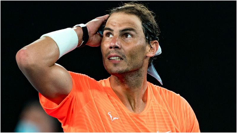Australian Open: Nadal helped out by YouTube as Medvedev enjoys birthday win