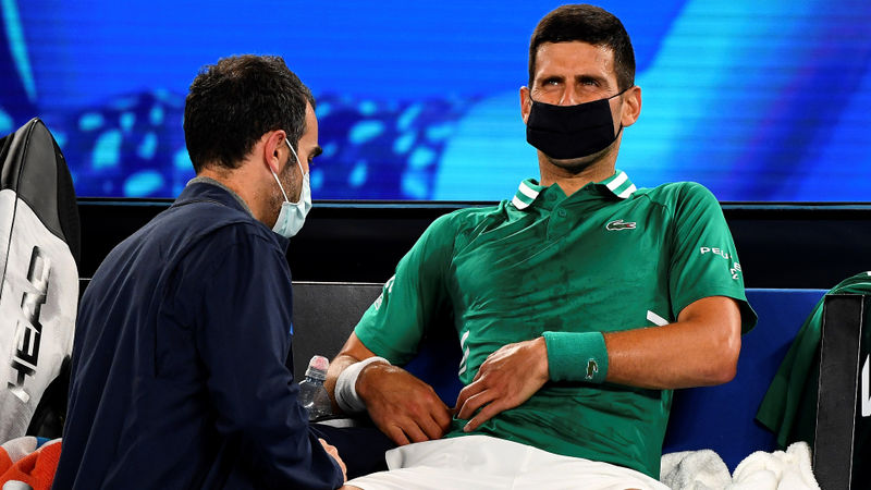 Australian Open: Djokovic has doubts over whether he will be able to play in round four
