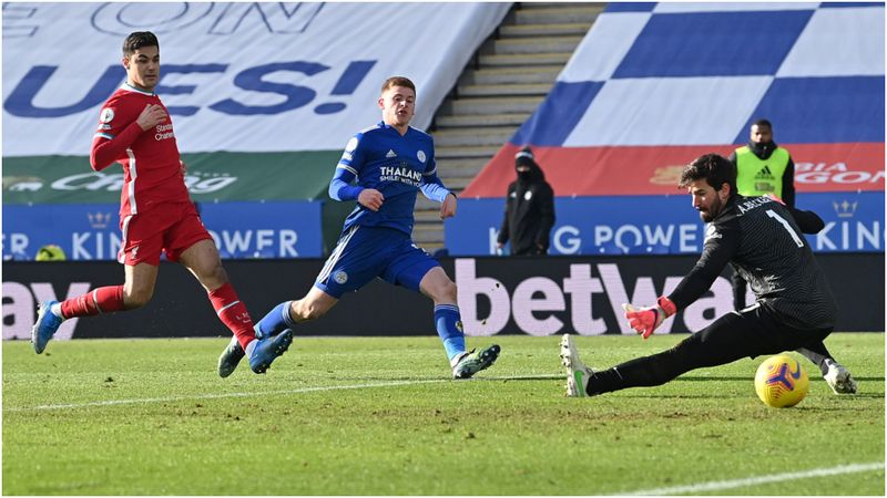 Leicester City 3-1 Liverpool: Foxes profit as stumbling champions suffer collapse