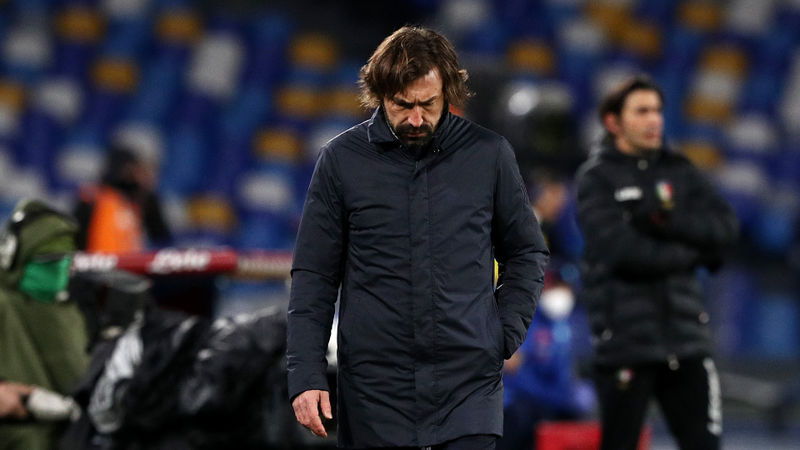 Juventus are treated differently - Pirlo unhappy with 'dubious' Napoli penalty