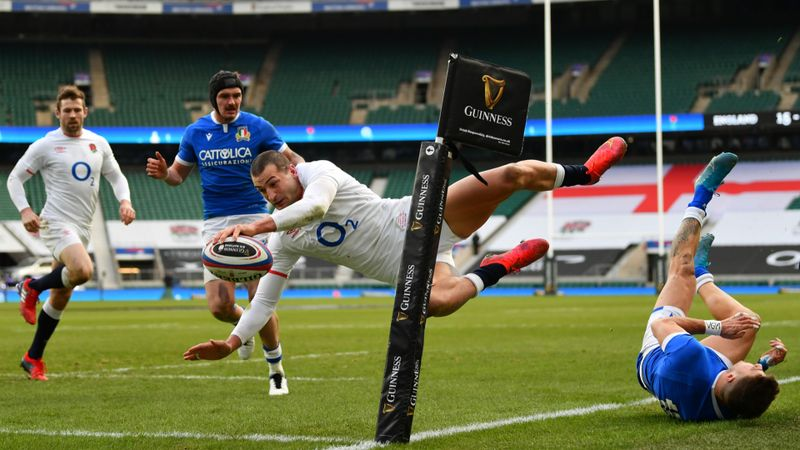 Six Nations 2021: England 41-18 Italy