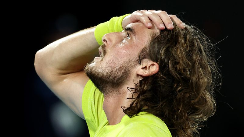 Australian Open: I flew like a bird, says Tsitsipas after stunning Nadal