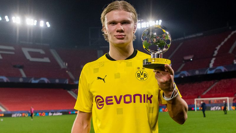Haaland lauded by Dortmund boss Terzic after Champions League brace