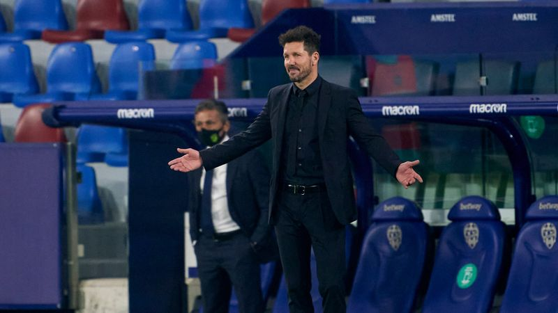 Simeone: Atletico's Levante slip-up not down to title nerves