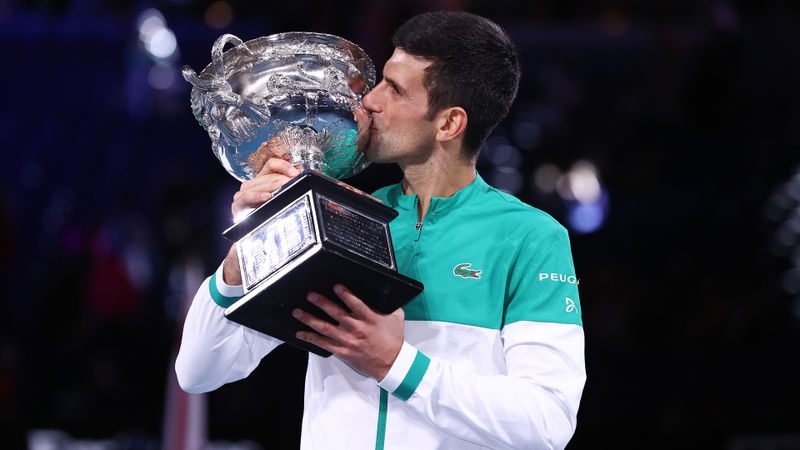 Australian Open: More Melbourne magic for Djokovic – a look at his nine titles