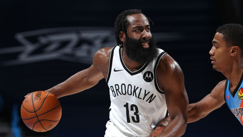 Harden leads Nets to sixth straight win, Pelicans complete largest comeback in franchise history