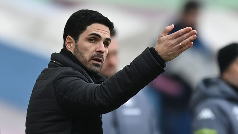 Arteta feels pressure as Arsenal prepare for Benfica 'final'