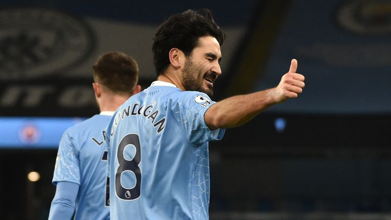 Gundogan insists Man City are not thinking about quadruple