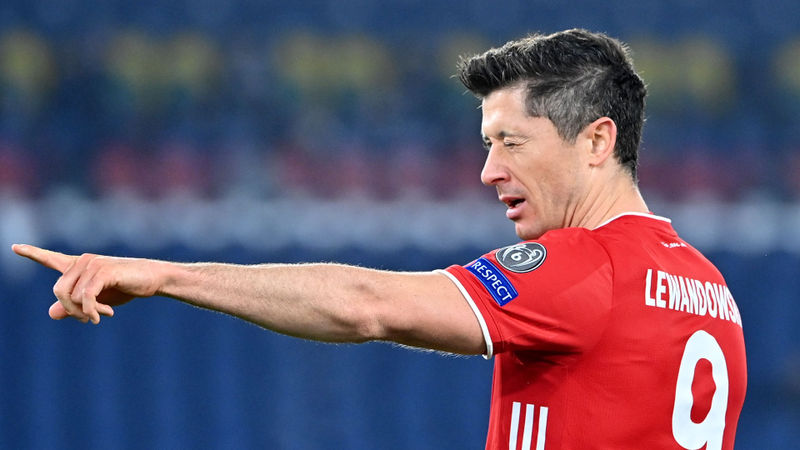 Lewandowski moves behind only Messi and Ronaldo on Champions League all-time scorers list
