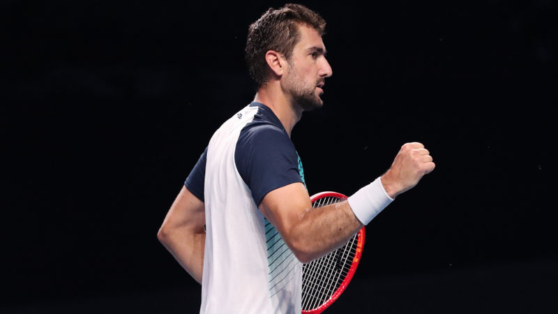 Cilic makes strong start in quest to join ATP's '20 club'