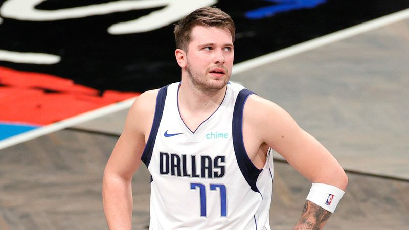 Doncic rejects Bird comparisons after Mavs end Nets streak