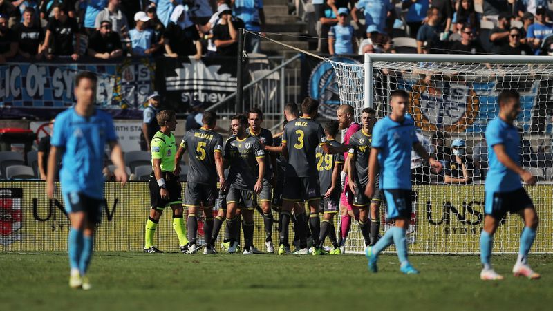 A-League: Derbyshire delivers for Macarthur, rare win for Wellington