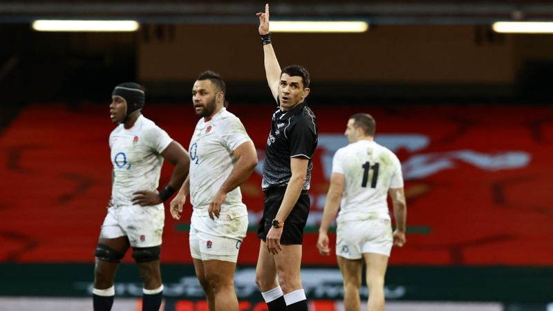 Six Nations 2021: Jones and Farrell refuse to blame referee Gauzere for England's defeat to Wales