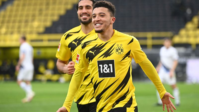 Sancho hailed by Terzic after Dortmund star's record-breaking Bundesliga display