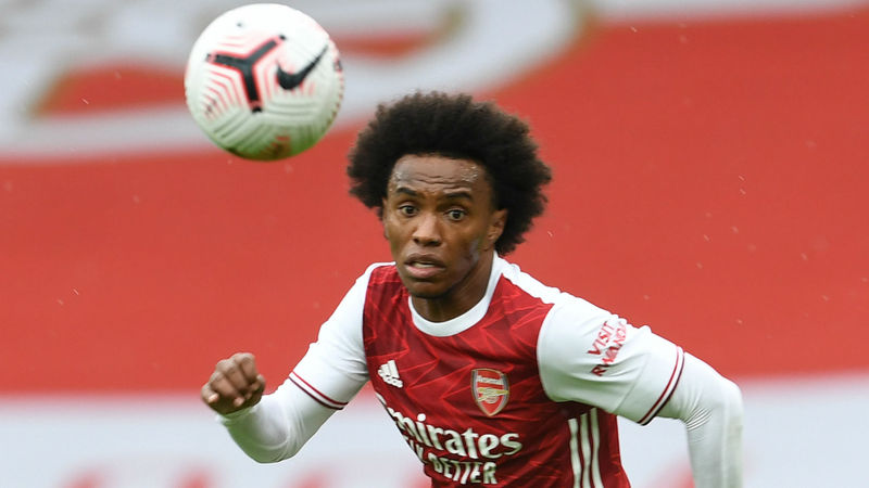 Arsenal 'expected many more things' from Willian – Arteta