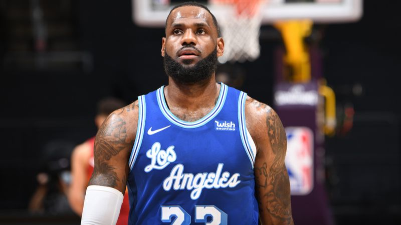 LeBron enjoying longest run in NBA history after triple-double as rallying Lakers break franchise record