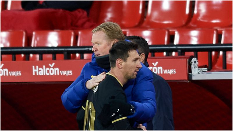 Messi's future is in his hands – Koeman