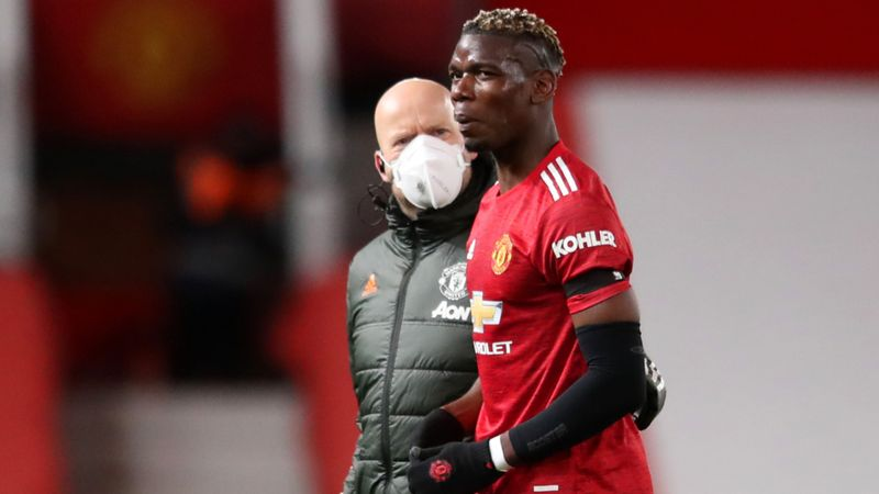 Solskjaer awaiting Pogba scan after Man Utd star hobbles off in Old Trafford collapse