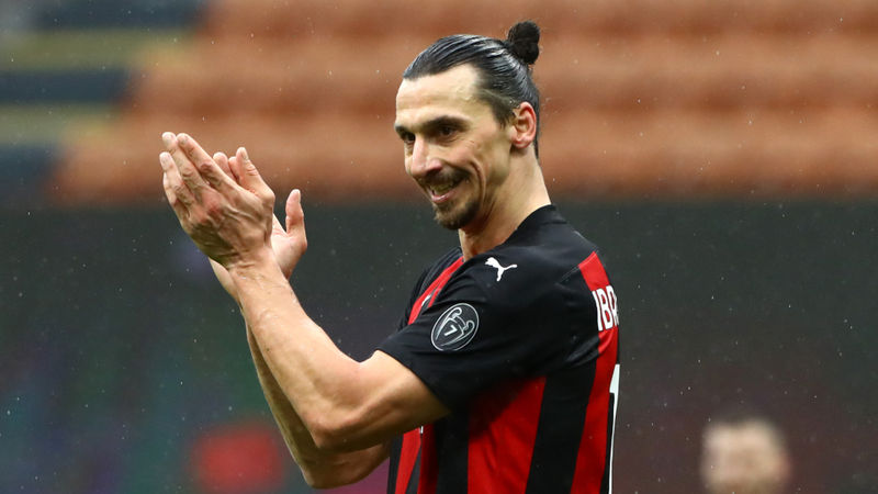 Milan 4-0 Crotone: Ibrahimovic goes past 500-goal mark as Rossoneri reclaim top spot