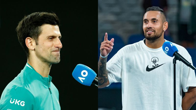 Australian Open: Kyrgios brands Djokovic 'a strange cat', emotional Monfils eliminated