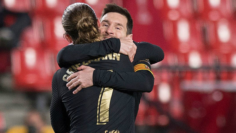 Granada 0-4 Barcelona: Griezmann and Messi continue Barca revival