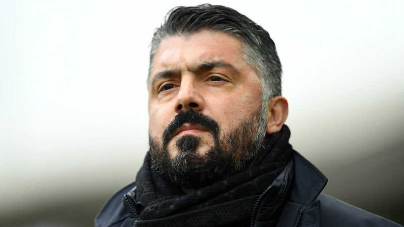 Napoli 'can't always be Brad Pitt' – Gattuso tells team to be ugly like him
