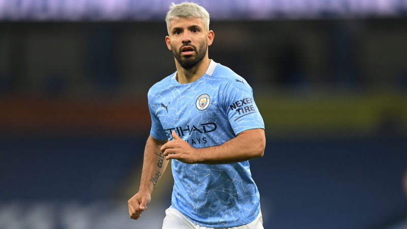 Man City striker Aguero forced to isolate after contact with positive COVID-19 case