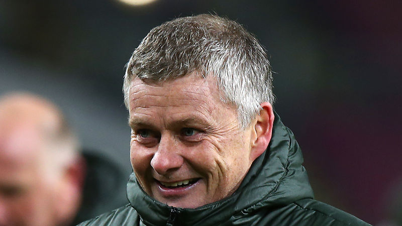 Solskjaer feels Man United are 'getting better and better' after climbing into top spot