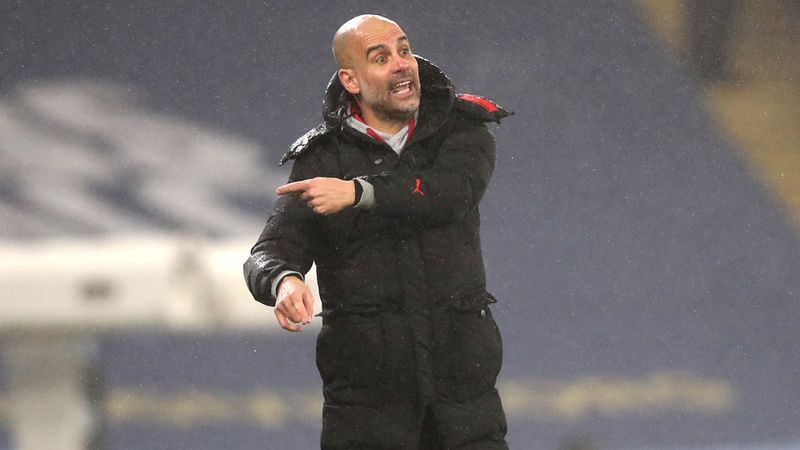 Guardiola: Scrappy Brighton win 'best thing that could happen' to City