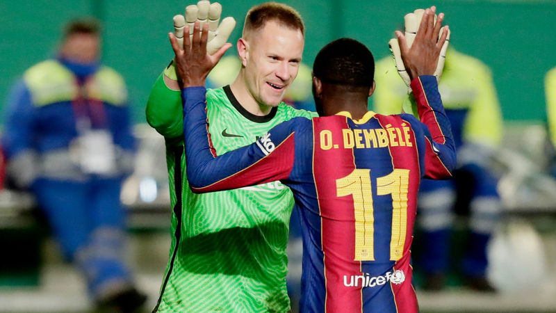 Ter Stegen thrilled as spectacular display sends Barcelona into Supercopa final