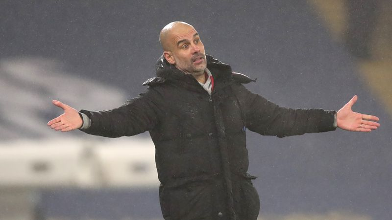 Don't blame footballers for UK pandemic - Guardiola calls for COVID-19 perspective