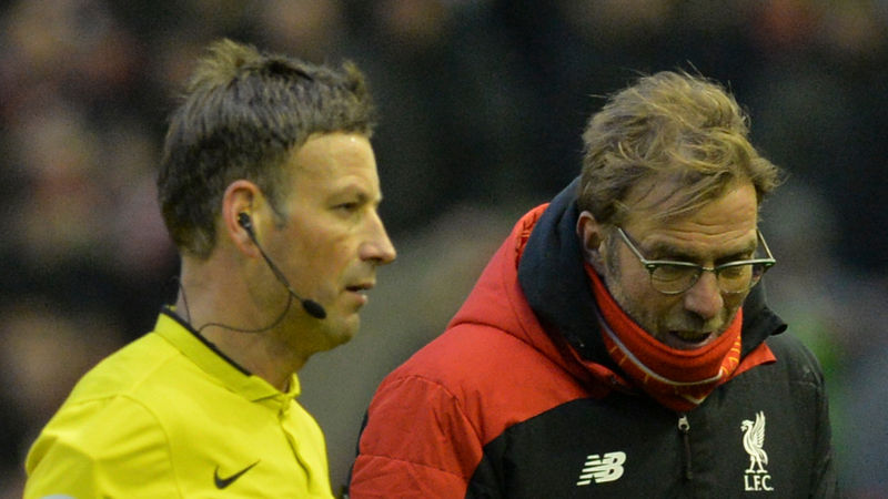 Klopp rejects Clattenburg 'mind games' accusation ahead of Man United clash