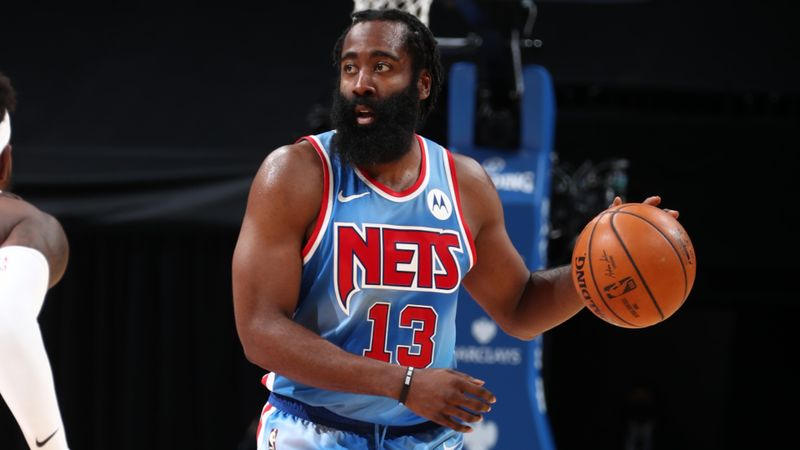 Harden makes NBA history on debut for Brooklyn Nets