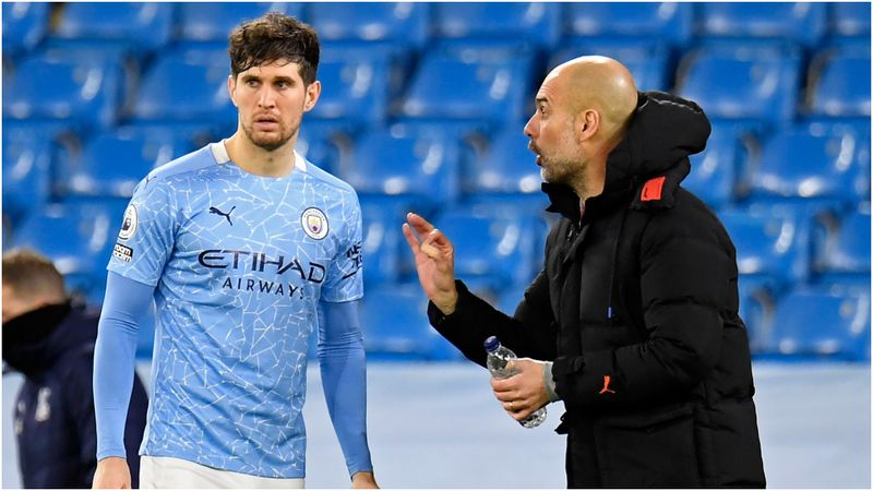 In-form Stones deserves the best – Man City boss Guardiola