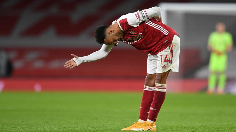 Arteta expects Newcastle brace will do wonders for Aubameyang's confidence