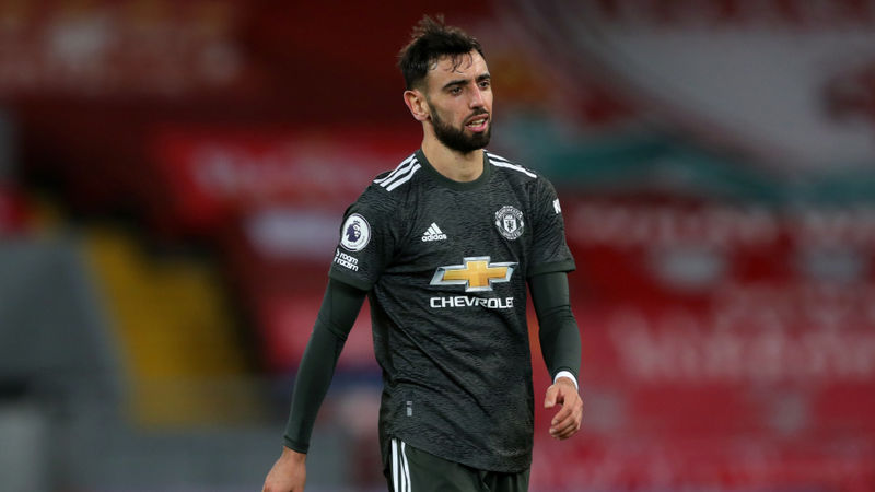 'No chance' Bruno Fernandes is out of form or tired, says Solskjaer